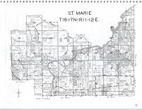Map Image 012, Green Lake County 1985